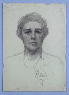 Ten self-portraits by Harriet Blackstone (1864–1939)