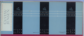 Ephemera, Album: The Cotton Picker