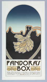 Poster, Pandora's Box [Pacific Film Archive Poster], 1975