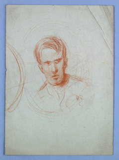 Drawing, Study for portrait