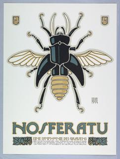 Poster, Nosferatu, 1977
