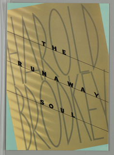 Book Cover, The Runaway Soul