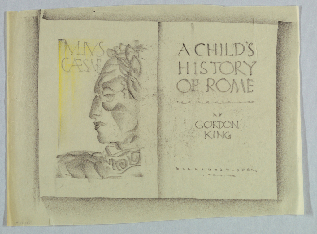 Drawing, A Child's History of Rome by Gordon King