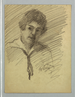 Ten self-portraits by Harriet Blackstone (1864–1939)