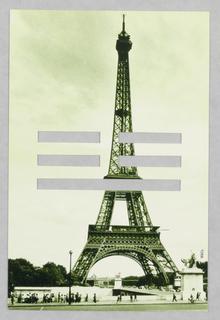 Postcard, China Grill Restaurant: Eiffel Tower