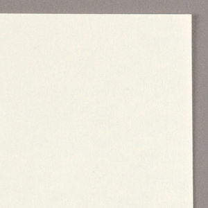 The stationery ensemble features black ink on white paper. Letterhead - The design consists of a miniscule icon: a hand, fingers splayed, is centered just below the top edge. A white spiral is imprinted in the palm.  Business card: Recto - The hand icon is repeated, centered just below the top edge. In the lower half, the firm name, Lisa Jenks Limited, address and telephone number are imprinted on three lines; Jill Tauber, Sales Director, occupies an additional line, centered underneath. Verso - Within a rectangle formed by an outline curved at the corners, Lisa/ Jenks is imprinted in capitals. The spiral design is repeated, immediately to the right of Lisa.