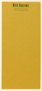 Envelope, Red Square