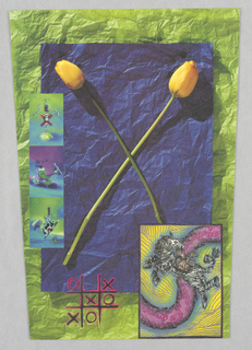 Letterhead, Cross Colours Inc.