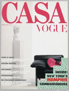 Advertisement, Memphis (Condominiums): Casa Vogue
