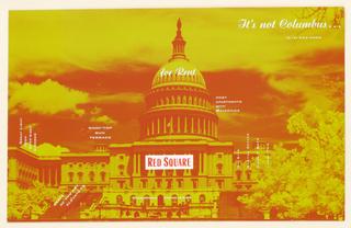 Postcard, Red Square