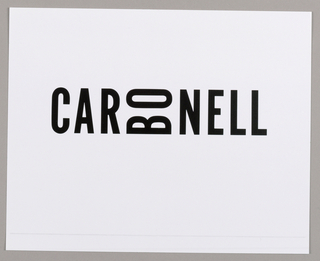Logo, Carbonell
