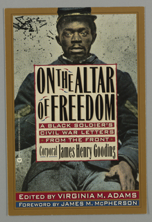 Book Cover, On the Altar of Freedom