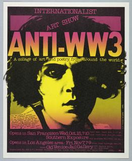 Poster, Anti – WW3, 1980