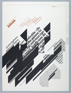 card: Exhibition Poster for Lilly Library, Indiana University