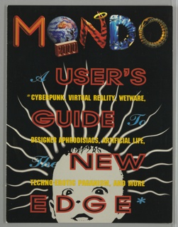 Book Cover, Mondo 2000: A User's Guide to the New