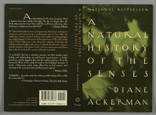 Book Cover, A Natural History of the Senses