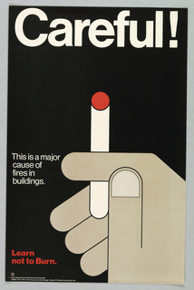 Poster, Careful!, 1976