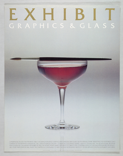 Poster, Graphics & Glass, 1976