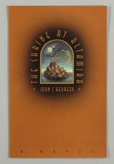 Book Cover, The Shrine at Altamira
