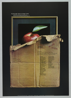 Poster, The Big Apple Opens in Orange County, 1978