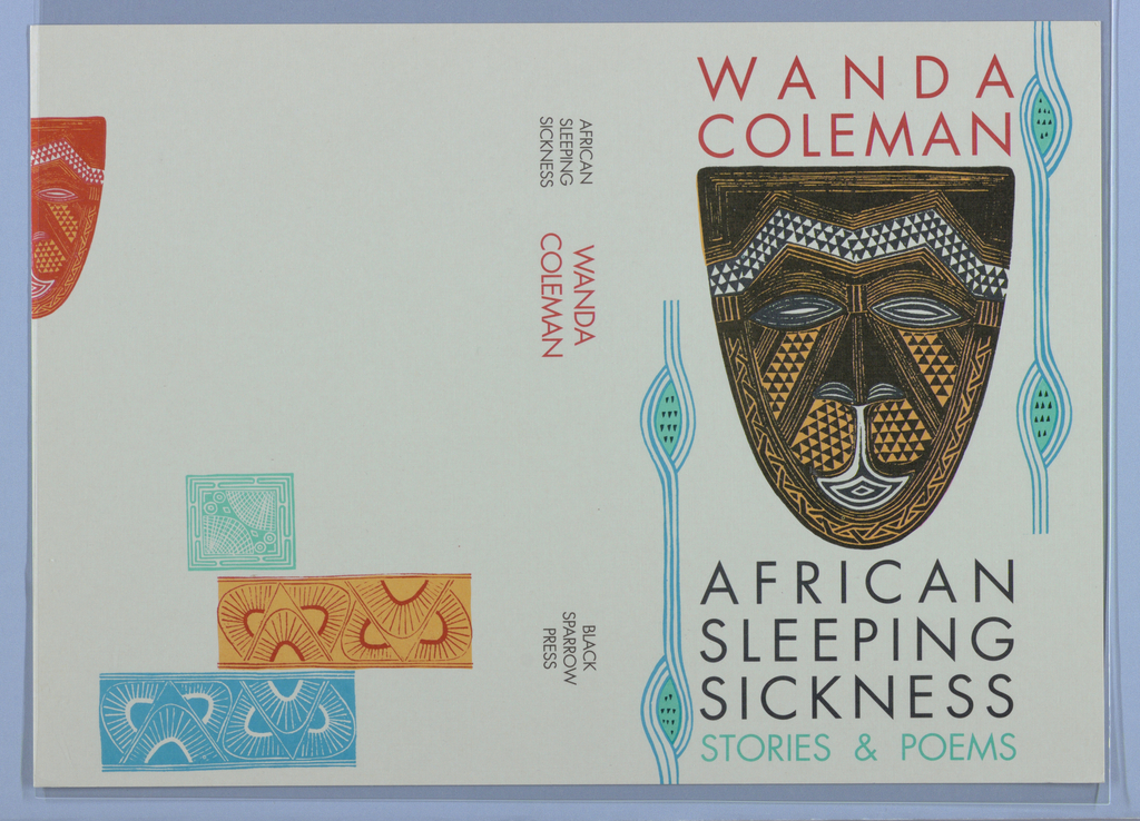 Book Cover, African Sleeping Sickness