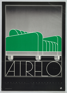 Poster, Air Flo, possibly 1975