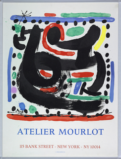 Poster, Joan Miro,  Abstract Composition, 1967