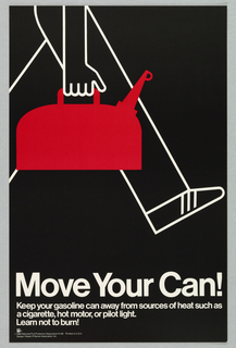 Poster, Move Your Can!, 1980