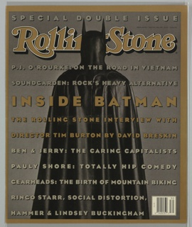 Book Cover, Rolling Stone