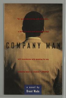 Book Cover, Company Man