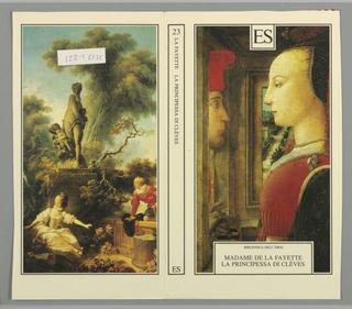 Book Cover, La Principessa di Cleves