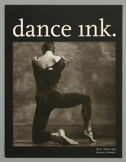 Book Cover, Dance Ink