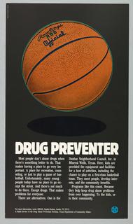 Poster, Drug Preventer, 1980