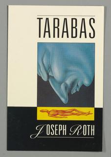 Book Cover, Tarabas