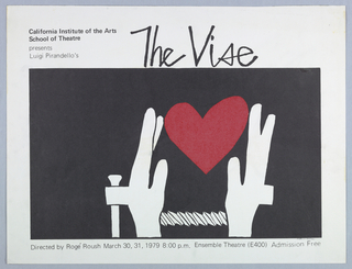 Poster, The Vise, 1979