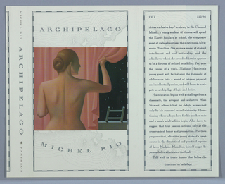 Book Cover, Archipelago