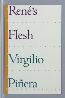 Book Cover, Book Cover: Rene's Flesh, ca. 1992