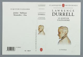 Book Cover, Le Quatour d'Alexandrie