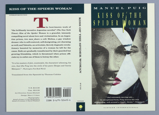 Book Cover, Kiss of the Spider Woman