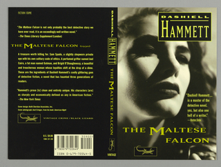Book Cover, Vintage Crime: Hammett: The Maltese