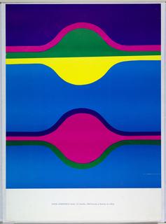 Poster, Suzuki Exhibition, 1968