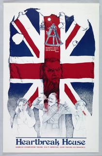 Poster, Heartbreak House, American Conservatory Theatre, 1978