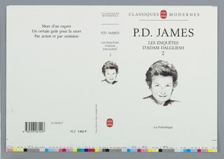 Book Cover, Les Enquetes D'Adam Dalgliesh