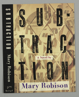 Bookcover, Subtraction