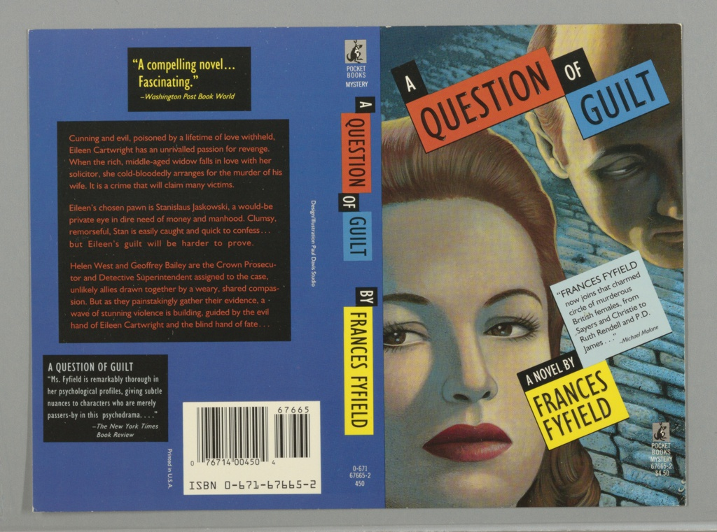 Book Cover, A Question of Guilt