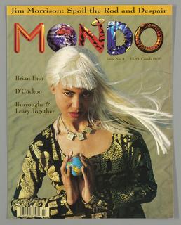 Book Cover, Mondo 2000