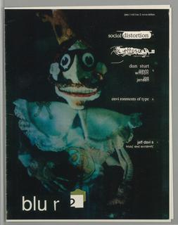 Book Cover, blu r