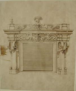 Drawing, Design for a Chimneypiece