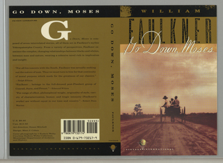Book Cover, Go Down, Moses