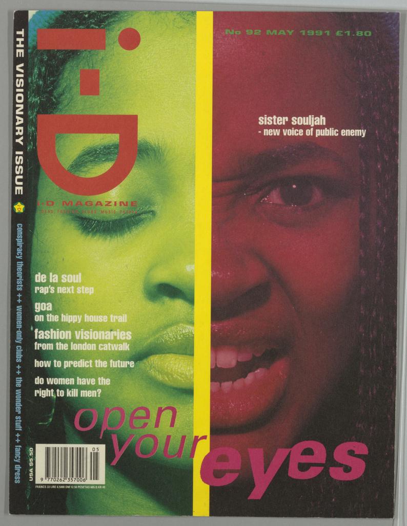 Book Cover, i-D